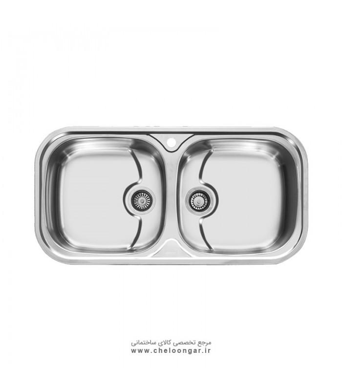 سینک ظرفشویی کد 110 اخوان