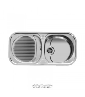 سینک ظرفشویی اخوان کد 113