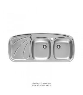 سینک ظرفشویی اخوان کد 136SP