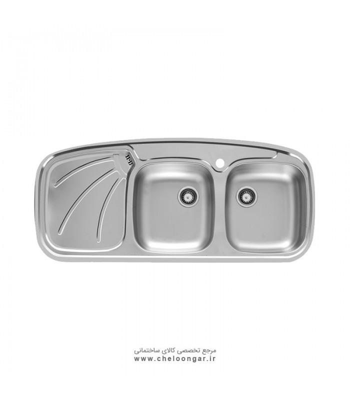 سینک ظرفشویی کد 136SP اخوان