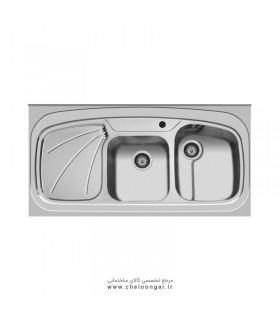 سینک ظرفشویی کد 25 اخوان