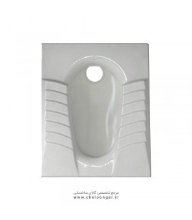 توالت زمینی(ایرانی) گلسار مدل مارانتا