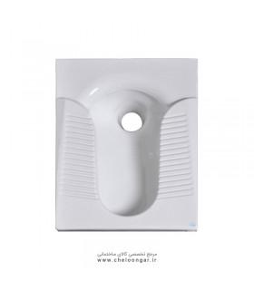 توالت زمینی (ایرانی) گلسار مدل پارمیس طبی