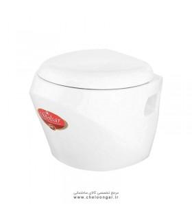 توالت فرنگی وال هنگ گلسار مدل اورینت