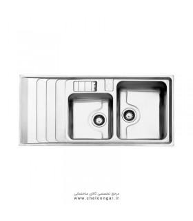 سینک ظرفشویی استیل البرز کد 816