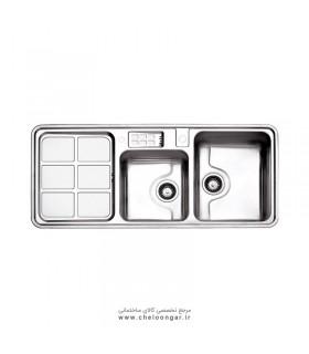 سینک ظرفشویی استیل البرز کد 815