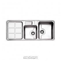 سینک ظرفشویی کد 815 استیل البرز