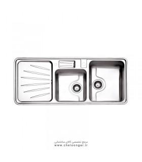 سینک ظرفشویی استیل البرز کد 814