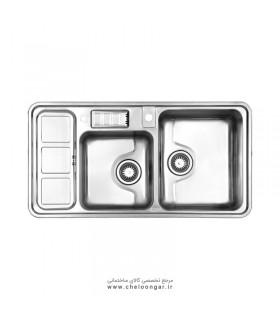 سینک ظرفشویی استیل البرز کد 813