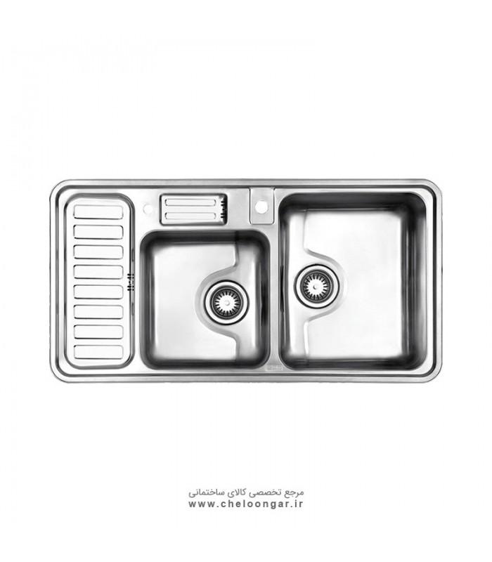 سینک ظرفشویی کد 812 استیل البرز