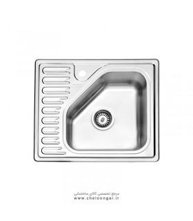 سینک ظرفشویی استیل البرز کد 810