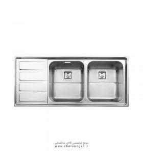 سینک ظرفشویی استیل البرز کد 764