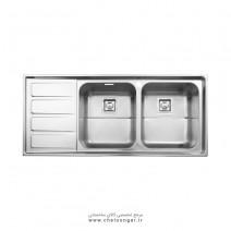 سینک ظرفشویی کد 764 استیل البرز