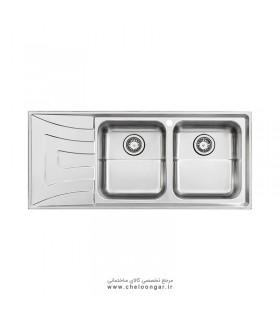سینک ظرفشویی استیل البرز کد 736