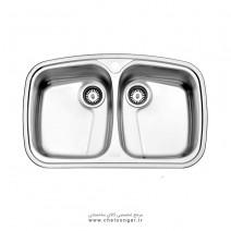 سینک ظرفشویی کد 628 استیل البرز