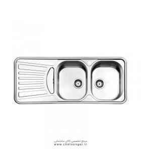 سینک ظرفشویی استیل البرز کد 725
