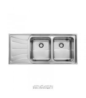 سینک ظرفشویی استیل البرز کد737