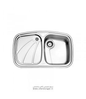 سینک ظرفشویی استیل البرز کد618