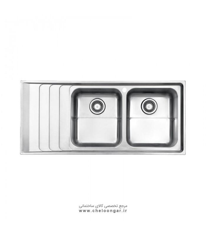 سینک ظرفشویی کد 734 استیل البرز