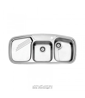 سینک ظرفشویی استیل البرز کد 614 new