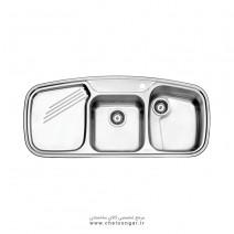 سینک ظرفشویی کد 614 استیل البرز