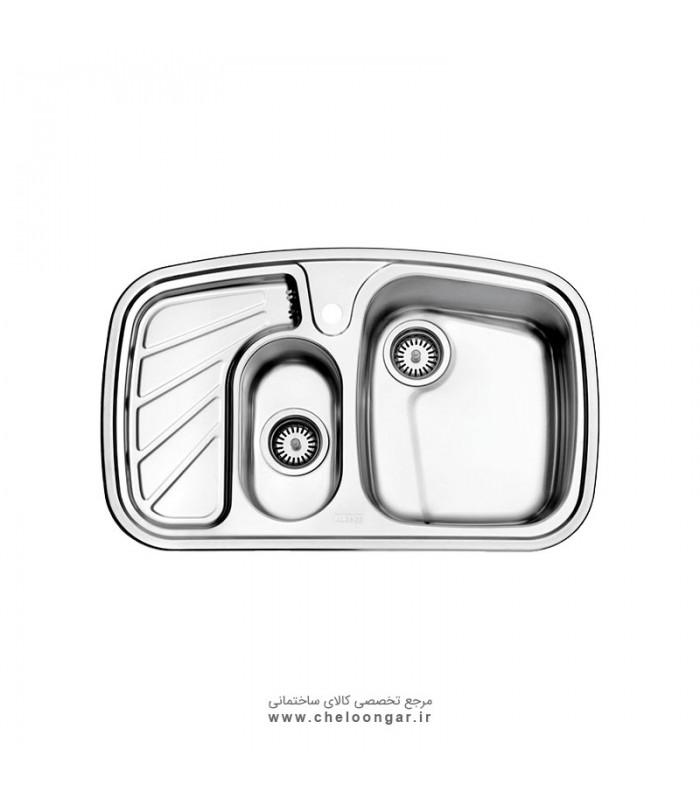 سینک ظرفشویی کد 608 استیل البرز