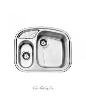 سینک ظرفشویی استیل البرز کد 605
