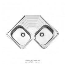 سینک ظرفشویی کد 540 استیل البرز