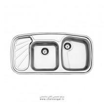 سینک ظرفشویی کد 611 استیل البرز