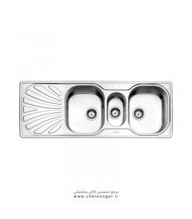 سینک ظرفشویی استیل البرز کد 530