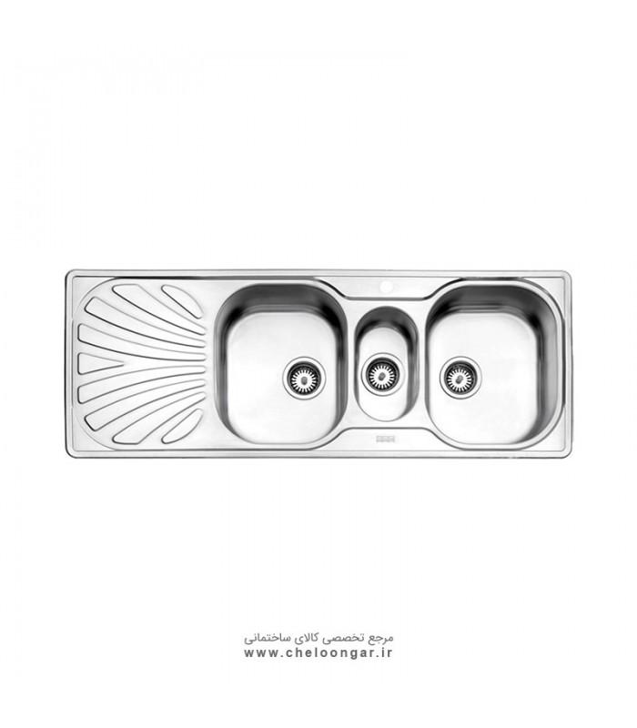 سینک ظرفشویی کد 530 استیل البرز