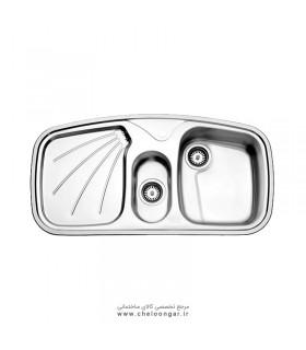 سینک ظرفشویی استیل البرز کد 610