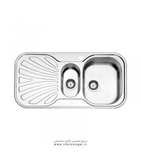 سینک ظرفشویی استیل البرز کد 510