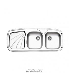 سینک ظرفشویی استیل البرز کد 270