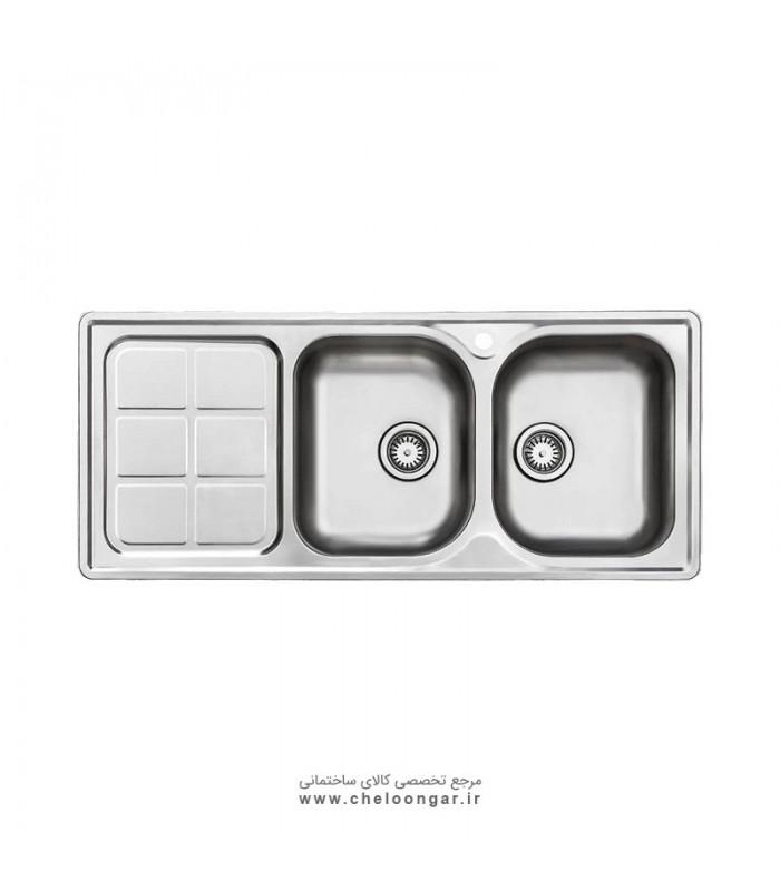 سینک ظرفشویی کد 215 استیل البرز