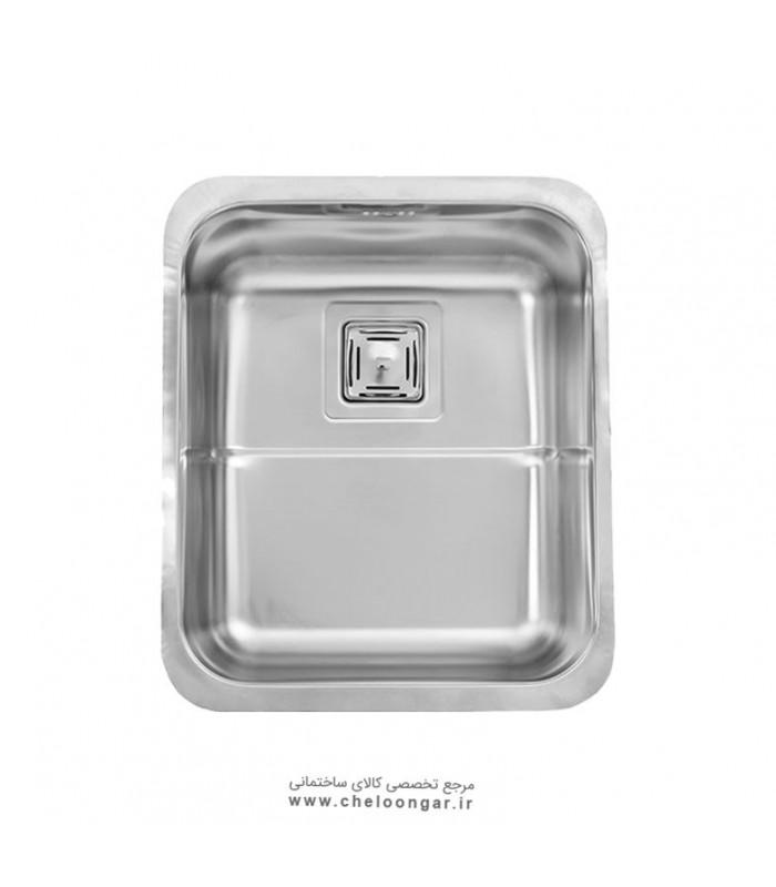 سینک ظرفشویی زیر صفحه ای کد 930 استیل البرز
