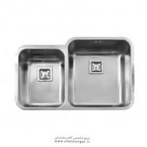 سینک ظرفشویی زیر صفحه ای کد 905 استیل البرز