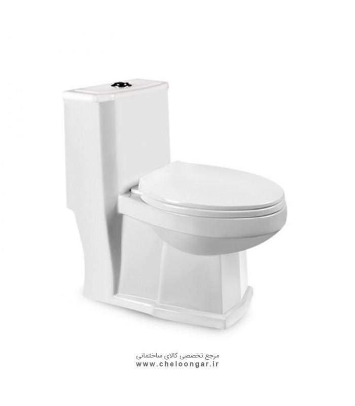 توالت فرنگی مروارید مدل رومینا