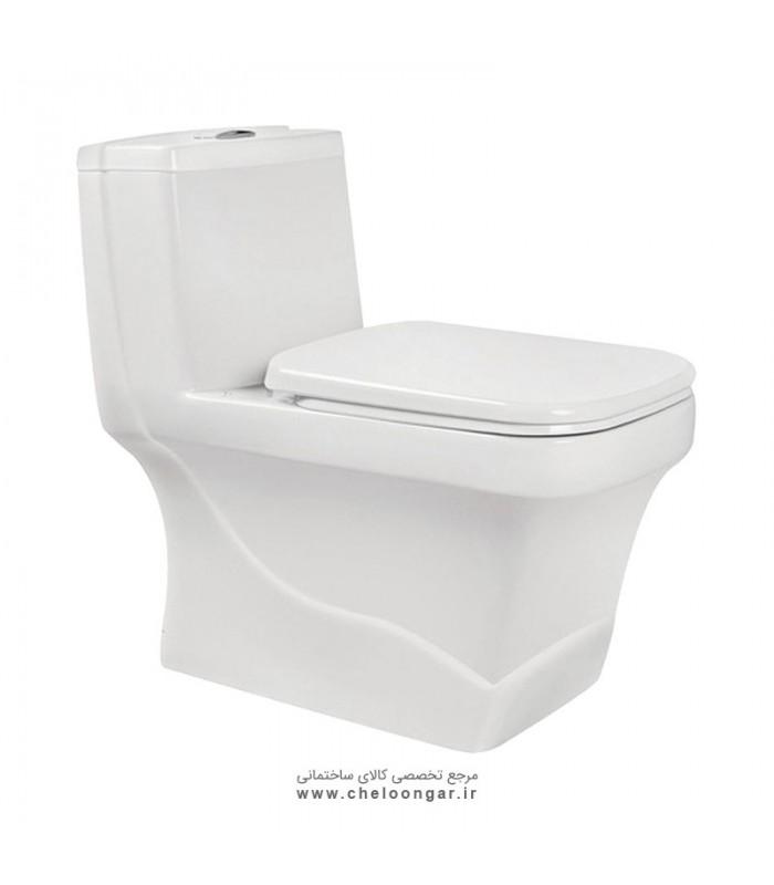 توالت فرنگی مروارید مدل کرون 70