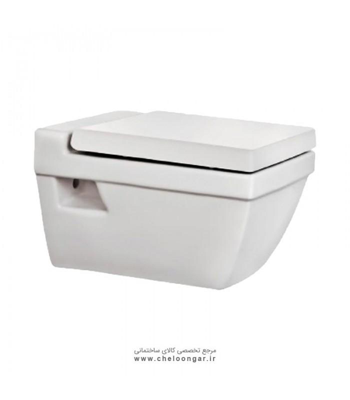 توالت فرنگی وال هنگ مروارید مدل سیلویا