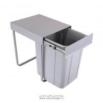 سطل زباله تک مخزن بزرگ 40 لیتری سارانیک