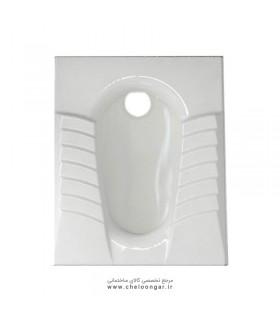 توالت زمینی (ایرانی) گلسار مدل مارانتا ریملس