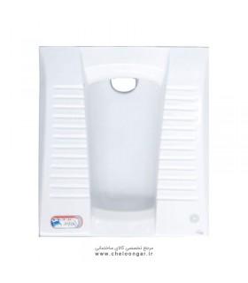 توالت زمینی (ایرانی) گلسار مدل لوسیا ریم بسته