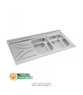 سینک ظرفشویی نگین الماس کد SA25