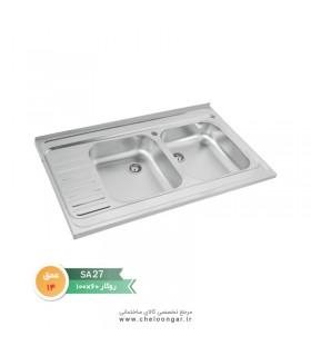 سینک ظرفشویی نگین الماس کد SA27