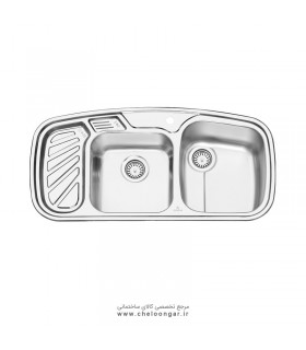 سینک ظرفشویی پرنیان استیل مدل PS1205