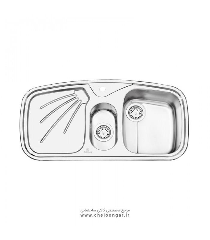 سینک ظرفشویی پرنیان استیل مدل PS1210
