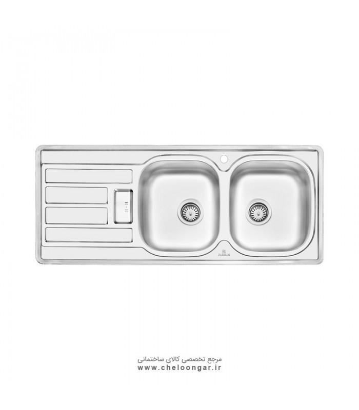 سینک ظرفشویی پرنیان استیل مدل PS2201
