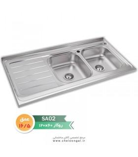 سینک ظرفشویی نگین الماس کد SA02