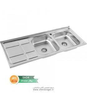 سینک ظرفشویی نگین الماس کد SA04